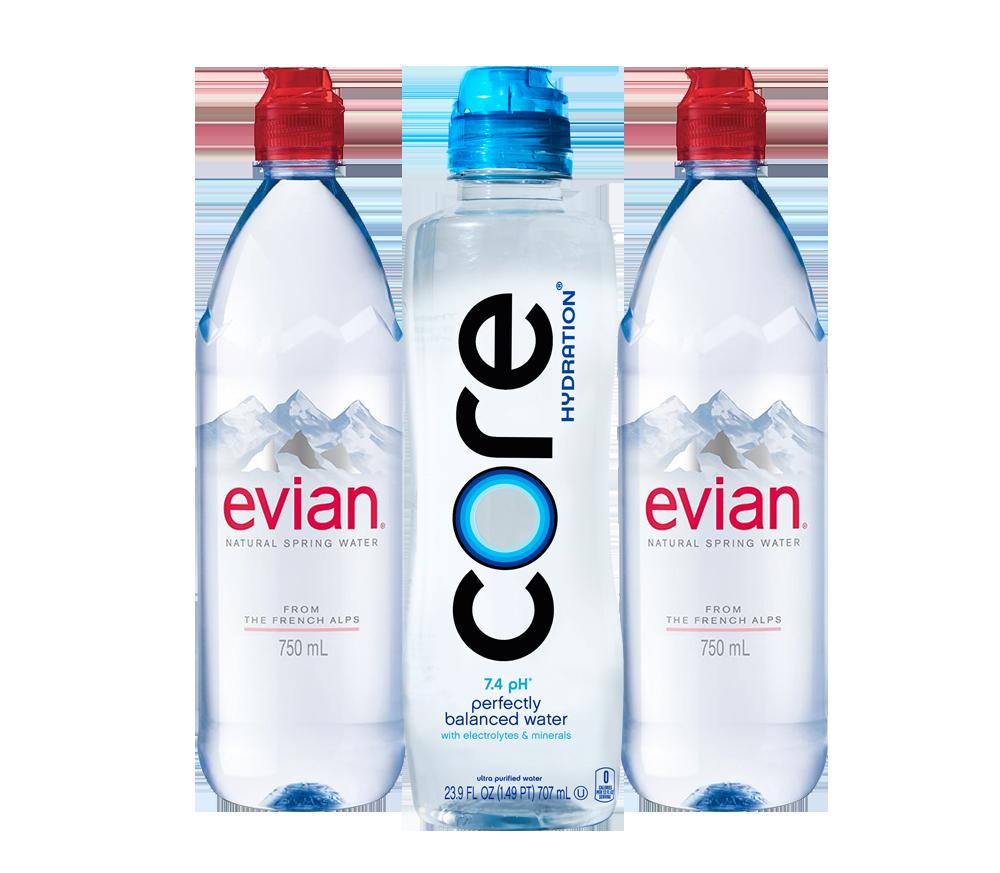 Core/Evian 23.9oz/750ml